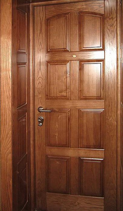 купить двери входные из натурального дерева